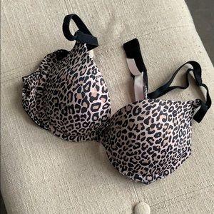 34B PINK push up bra